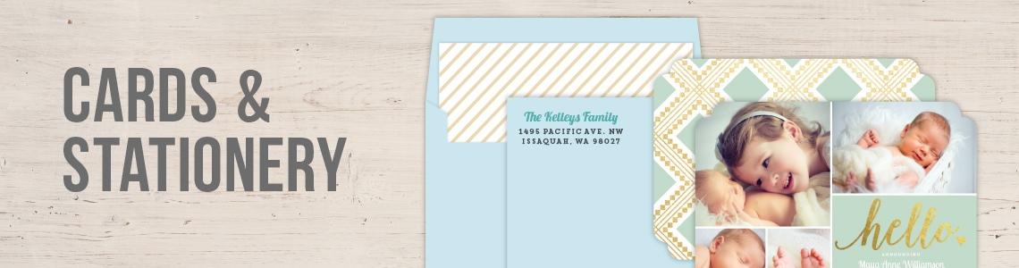Custom Invitations & Cards