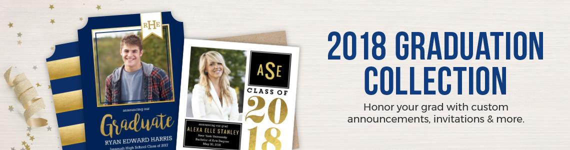 Popular Graduation Cards & Stationery