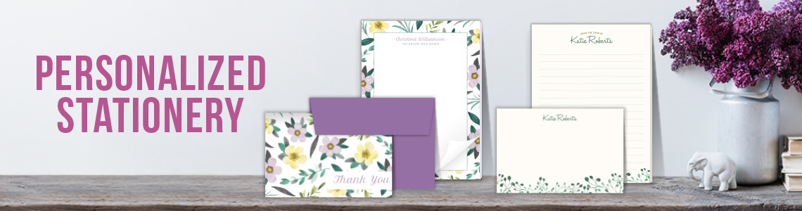Popular Personalized Stationery
