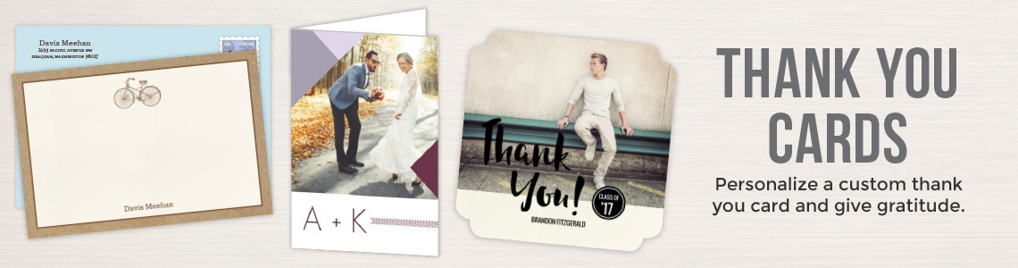 Popular Thank You Cards