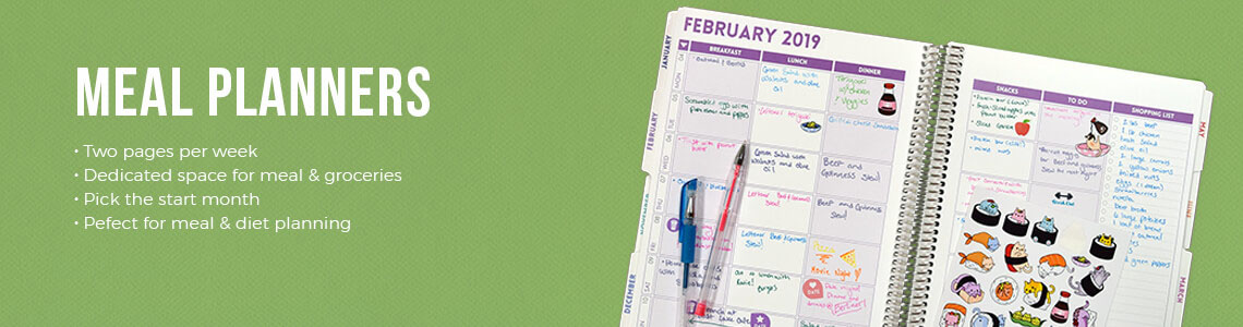 Meal Planners | Food is Great, Plan it well | Purple Trail