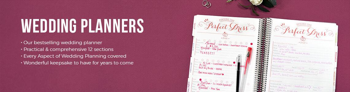 Wedding planner, Personalized Wedding Planner, Custom Wedding Planner, Engagement Gift