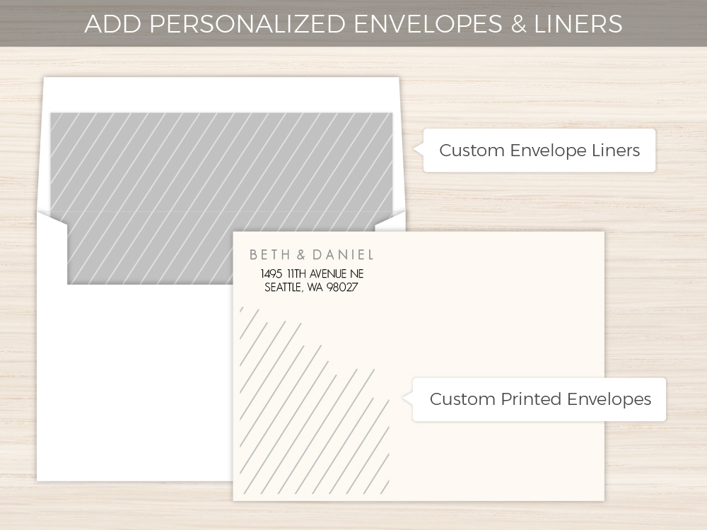 Gray and Green Stripe Business Card