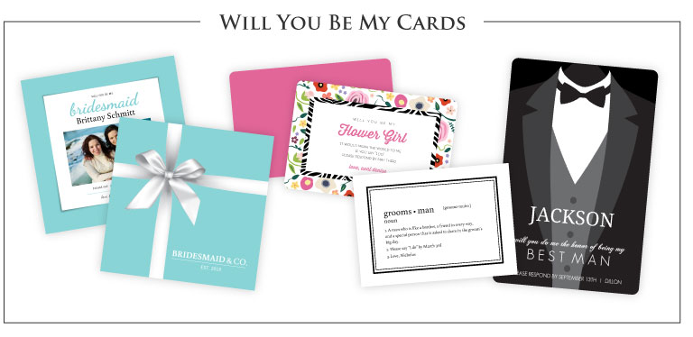 Will you be my cards
