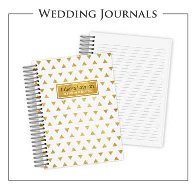 Custom Wedding Journal