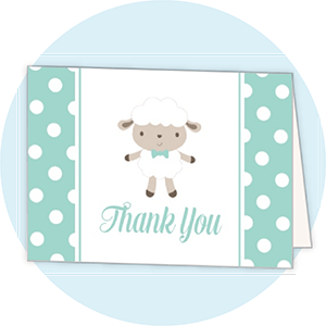 Baby Thank You Cards