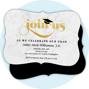 Elegant Grad Announcements
