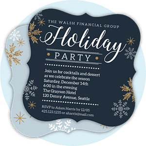 Company Holiday Invitations