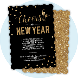 New Years Invitations