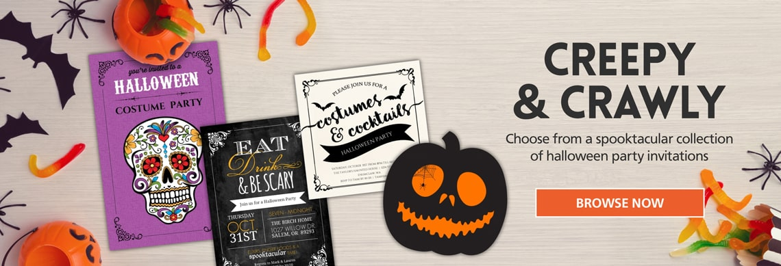 Cheap Halloween Party Invitations