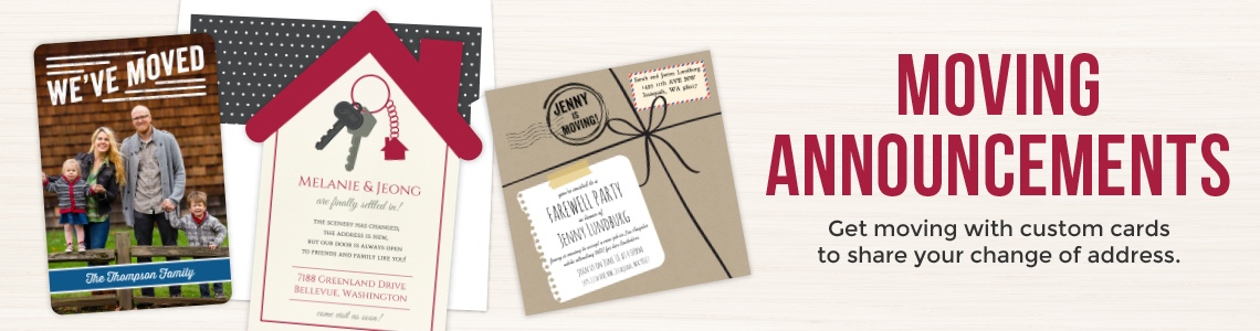 Popular Moving Invitations