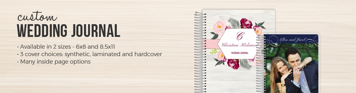Wedding Journals & Personalized Wedding Journals