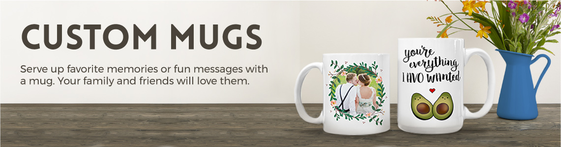 Custom Coffee Mugs by PurpleTrail