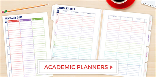 Academic Planners