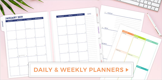Daily & Weekly Planners