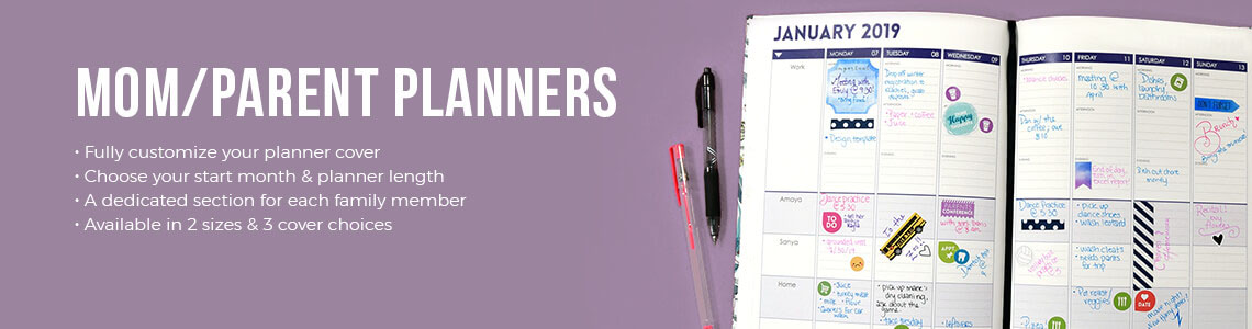Planners for Moms & Mom daily planner | Mom Planner