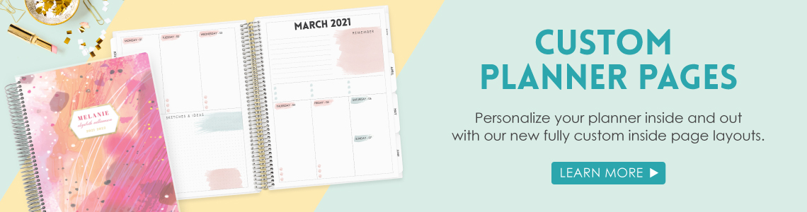 Custom Planner Pages