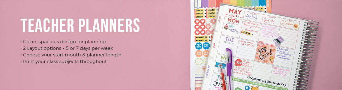 Teacher Planners & Teacher Lesson Planner