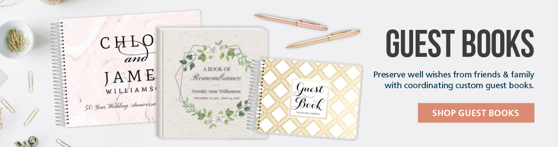 Personalized Guestbooks