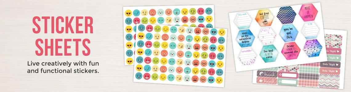 Stickers, Labels & Planner Stickers   PurpleTrail