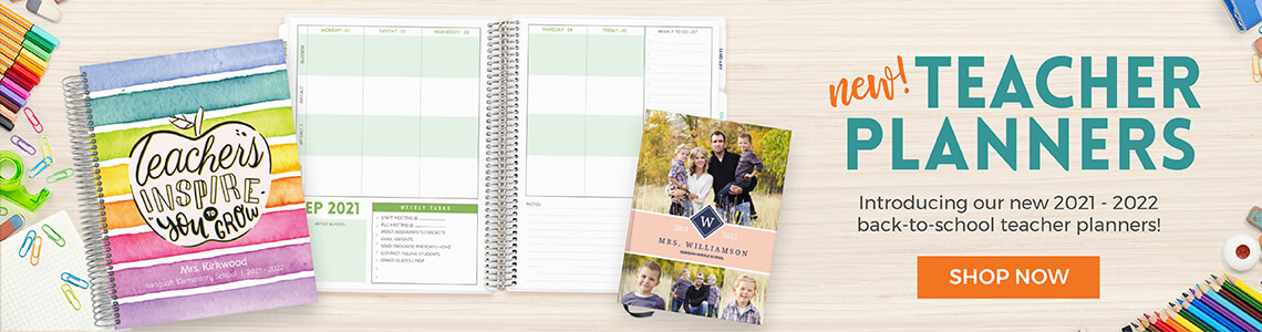 New! 2021 Planners