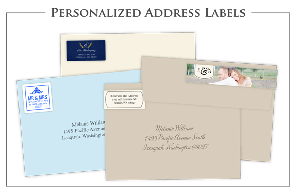 Personlized Address Labels