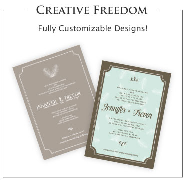 Fully Customizable Designs