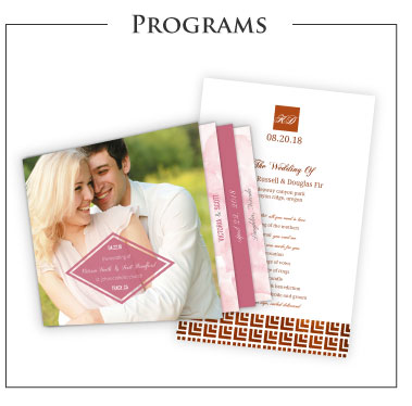 Wedding Programs Cards