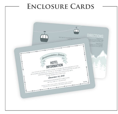 Attrayant Wedding Enclosure Cards