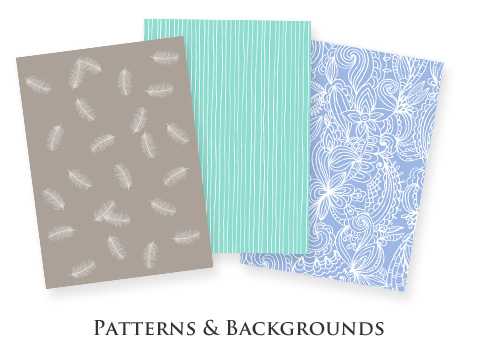 Custom Patterns and Backgrounds