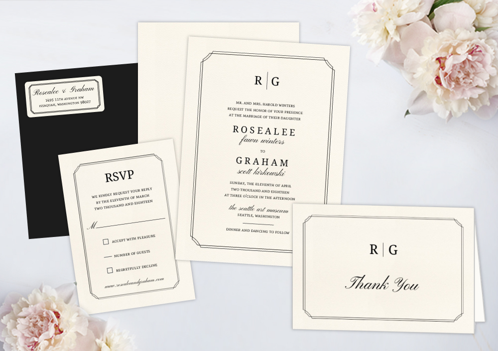Wedding Invitation Packages.Wedding Invitation Packages By Wedding Paperie